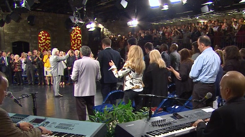 Benny Hinn Ministries: He is Here Right Now